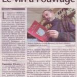 Le vin à l'ouvrage. Sud Ouest, 27/11/2004.