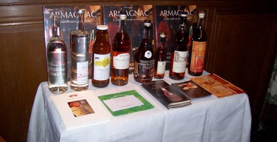 Armagnac : La flamme et la patience. Dégustation littéraire, Château Bardins, 03/04/2009.