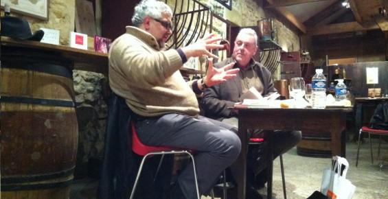 Yves Charnet, le poète torero : (auto)portraits en artiste romantique. Dégustation littéraire, Ecomusée de la vigne et du vin, Gradignan, 07/12/2012.