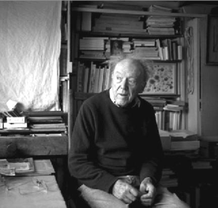 Gérard de Palézieux dans son atelier.