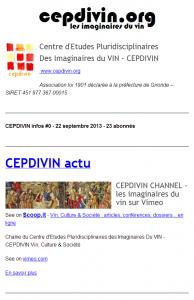 CEPDIVIN infos #