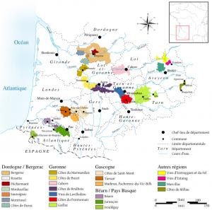 Vignobles du Sud-Ouest