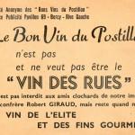 Bons Vins du Postillon Robert Giraud