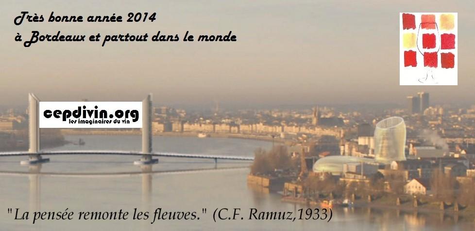 Les Vœux de CEPDIVIN association pour 2014.