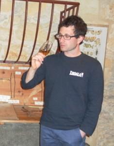 Jérémie Illouz, vigneron à Cahors.