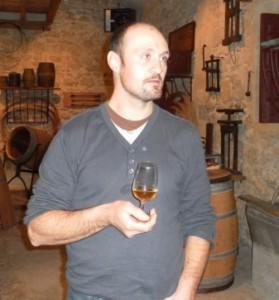 Sylvain Jougla, vigneron à Duras.