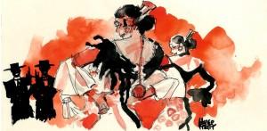 flamenco falseta