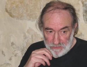 Jean-Claude Pirotte lisant En Cabardès. Juin 2004. © CEPDIVIN