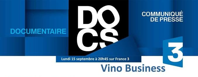 vino business france 3 communique presse