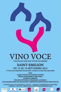 vino voce 2014 affiche