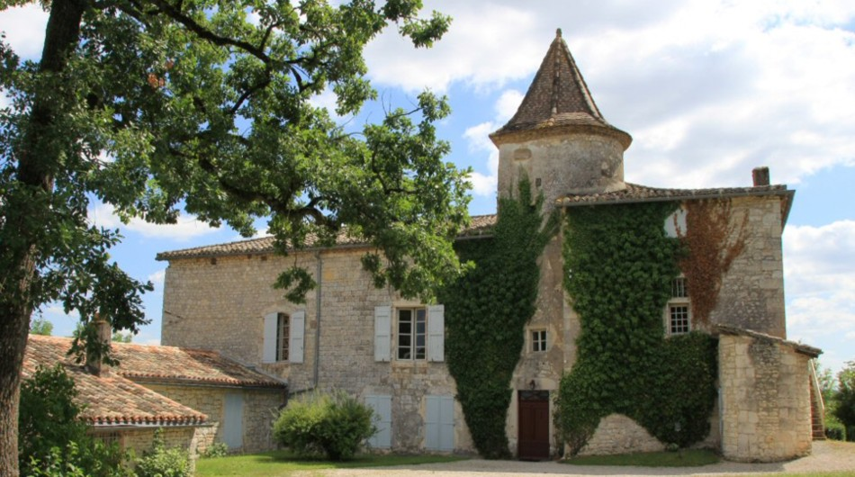 Le Château de Cayla (Tarn) où vécu Maurice de Guérin.