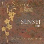 Jean-Noël Millon – La Source du Ruault, cuvée Senseï 2011