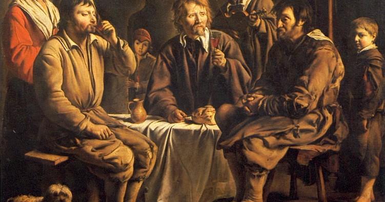 Louis LE NAIN ? - Laon, vers 1600/1610 - Paris, 1648 Repas de paysans, 1642 © Musée du Louvre/A. Dequier - M. Bard