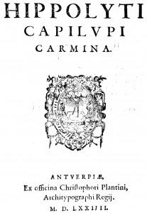 Ippolito-Capilupi-Carmina