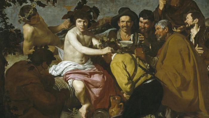 Diego Velázquez, El triunfo de Baco o Los borrachos, 1629. Museo del Prado, Madrid.